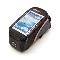 Bag on frame with phone case BONIN L 17,5x9x9cm (black)