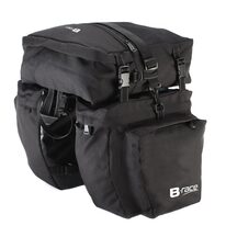 Dviračio krepšys ant bagažinės, B-Race 35x30x13cm 37l
