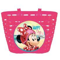 Dviračio krepšys ant vairo BONIN Minnie (rožinė)