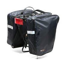 Dviračio krepšys ant bagažinės BONIN 2x15l (juodas)