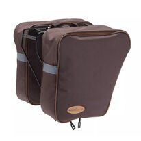 Dviračio krepšys ant bagažinės BONIN 2x15l (rudas)