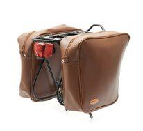 Bag on rear carrier BONIN 33x11x34cm (brown)