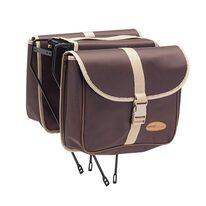 Dviračio krepšys ant bagažinės BONIN (rudas)