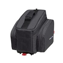 Bag Rixen&Kaul on rear carrier with Snap-It adapter 24x35x23cm 10l