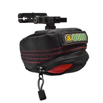 Bag under the saddle OGNS Extreme 0,6l with KlickFix adapter (black/red)
