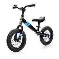 """Balansinis dviratis METEOR 12"""" (juoda/mėlynas)"""