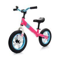 """Баланс велосипед METEOR 12"""" (розовый / голубой / белый)"""