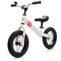 "Balansinis dviratis METEOR 12"" (balta/rožinė)"