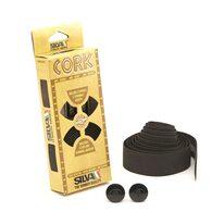 Bar tape SILVA Cork (black)