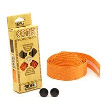 Bar tape SILVA Cork (orange)