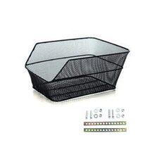 Basket on rear carrier BONIN Speedy 300x390x170mm (black)
