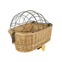 Basket on rear carrier for animals 43,5x31x22/16,5cm