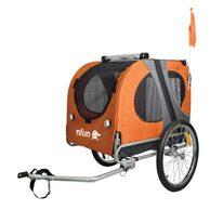 Dviračio priekaba 'NFUN gyvūnams vežti (oranžinė)
