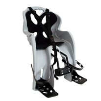 Bicycle child seat  'NFUN SIMPATICO on front frame max 15kg (grey/black)