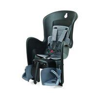 Dviračio kėdutė Polisport Bilby galinė ant bagžinės 22kg (juoda/pilka)