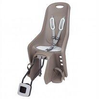 Dviračio kėdutė Polisport Bubbly Maxi FF ant rėmo (rusva)