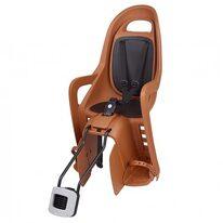 """Dviračio kėdutė Polisport Groovy 29"""" ant rėmo  (ruda)"""