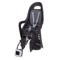 Dviračio kėdutė Polisport Groovy RS+ ant rėmo 22kg (juoda)