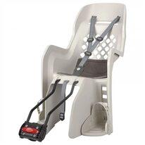 """Dviračio kėdutė Polisport Joy 29"""", ant rėmo (kreminė/pilka)"""