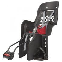 """Dviračio kėdutė Polisport Joy 29"""" ant rėmo 22kg (juoda/raudona)"""