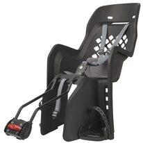 """Dviračio kėdutė Polisport Joy 29"""" ant rėmo 22kg (tamsiai pilka)"""