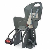 Dviračio kėdutė Polisport Koolah FF, ant rėmo (pilka)