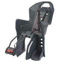 Dviračio kėdutė Polisport Koolah FF ant rėmo 22kg (juoda)