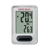 Bicycle computer Cat Eye CC-VL820 9 functions wireless (white)