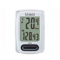 Bicycle computer Cat Eye CC-VT230W 8 functions wireless (white)