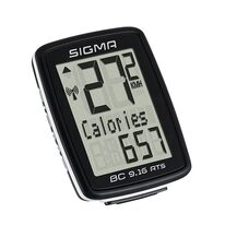 Bicycle computer Sigma BC 9.16 wireless, 9 funcions