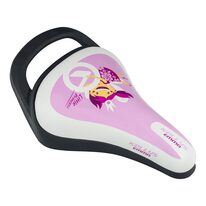 Bicycle saddle for children KLS Emma, with a hadle (pink)