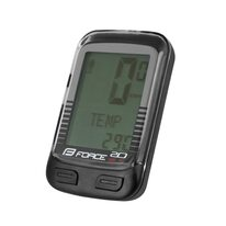 Bike computer FORCE WLS 20 functions, wireless (black)