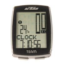 Bike computer KTM Team Altimeter wireless 15 functions