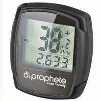 Dviračio kompiuteriukas PROPHETE, 9 funkc.  (juodas)
