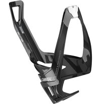 Bottle cage Elite Cannibal XC (black matte/white graphic)