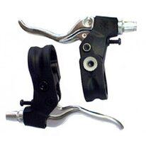 Stabdžių rankenėlių ALHONGA BMX komplektas (juoda/sidabrinė)