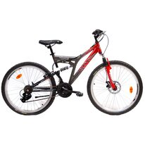 "Campos Active 26"" 18G размер 17"" (43cm) (red/grey/black)"