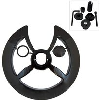 Chainring cover 42-44T (plastic, black)