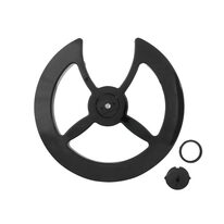 Chainring cover 46-48T (plastic, black)