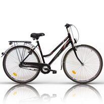 "COMFORT Bike 28"" N3 dydis 20"" (51см) (juoda/sidabrinė/raudona)"