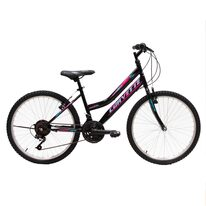 "Corvette Crystal Lady V-brake 24"" size 14,5"" (36,5cm) (black/pink)"