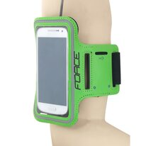 Cover / holder FORCE for mobile phone (green)