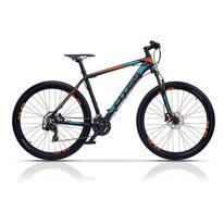 "CROSS GRX 7 27,5"" dydis 16"" (41cm) (juoda/mėlyna/oranžinė)"