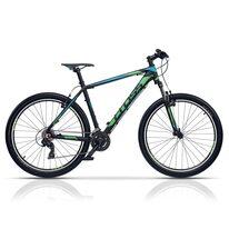 """CROSS GRX 7 V 27,5"""" dydis 18"""" (46cm) (juoda/žalia/mėlyna)"""