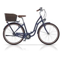 "CROSS PICNIC PLUS City 28"" size 17"" (43cm) (LS, blue/white/brown)"