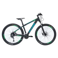 "CROSS Traction SL9 27,5"" dydis 18"" (46cm) (juoda/mėlyna/žalia)"
