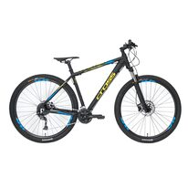 "CROSS Traction SL9 29"" dydis 22"" (56cm) (juoda/geltona/mėlyna)"