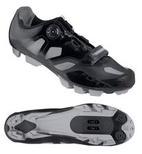 Cycling shoes FORCE MTB Fire (black) size 42
