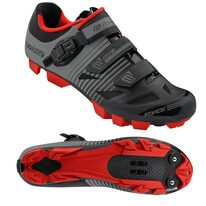 Cycling shoes FORCE MTB Turbo (black/grey) 42