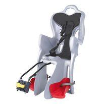 Dviračio kėdutė BELLELLI B-One gale ant dviračio rėmo max 22kg (pilka/juoda)